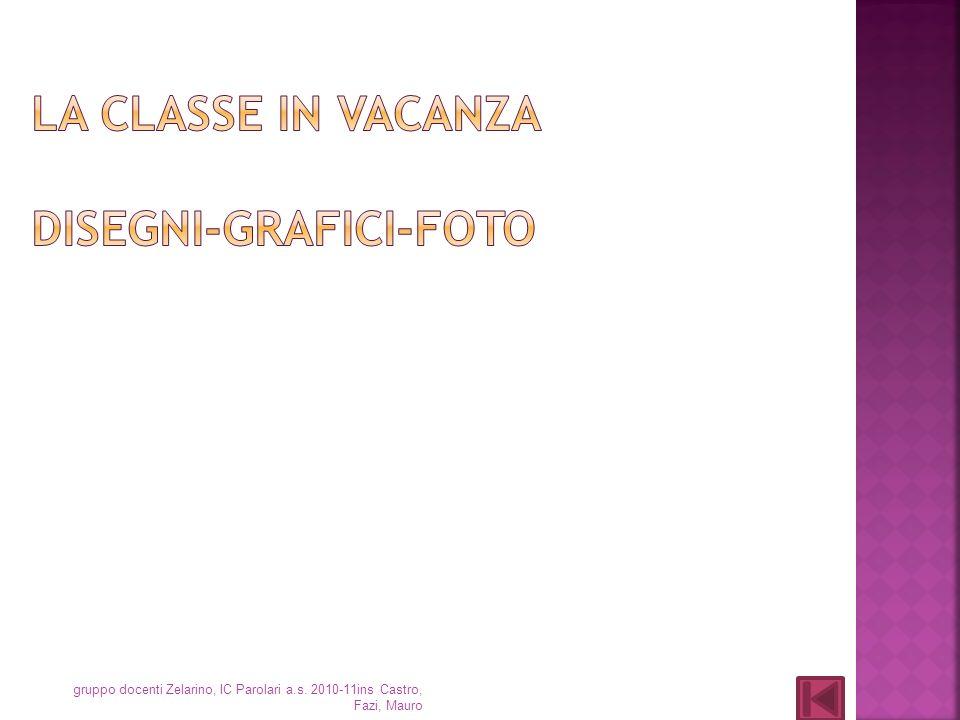 La classe in vacanza disegni-grafici-foto