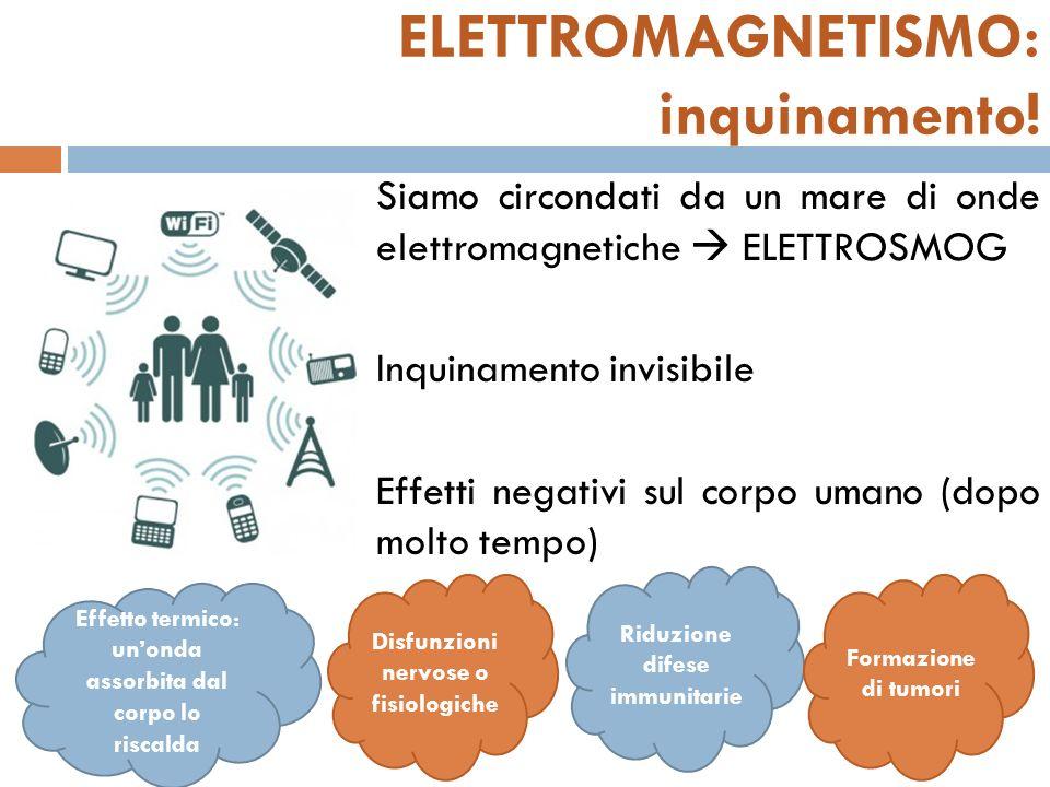 ELETTROMAGNETISMO: inquinamento!