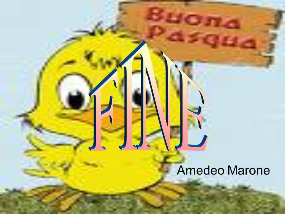 FINE Amedeo Marone