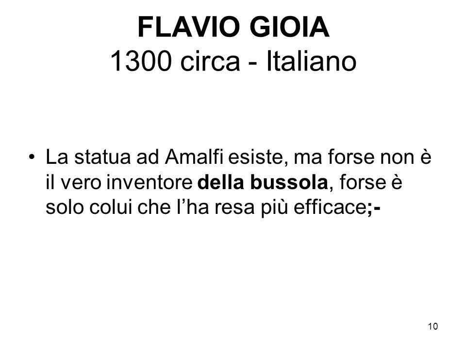 FLAVIO GIOIA 1300 circa - Italiano