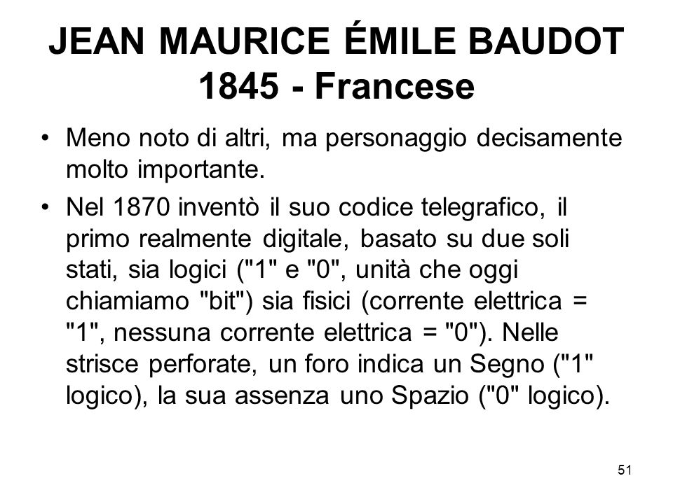 JEAN MAURICE ÉMILE BAUDOT 1845 - Francese