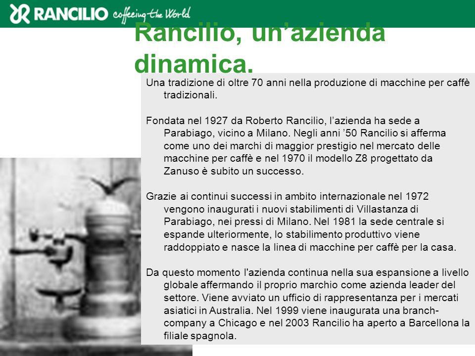Rancilio, un'azienda dinamica.