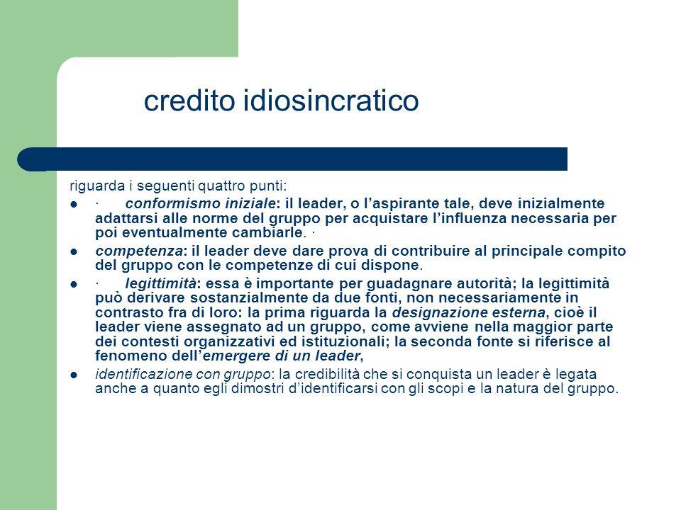 credito idiosincratico