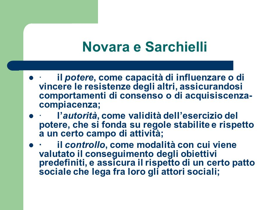 Novara e Sarchielli