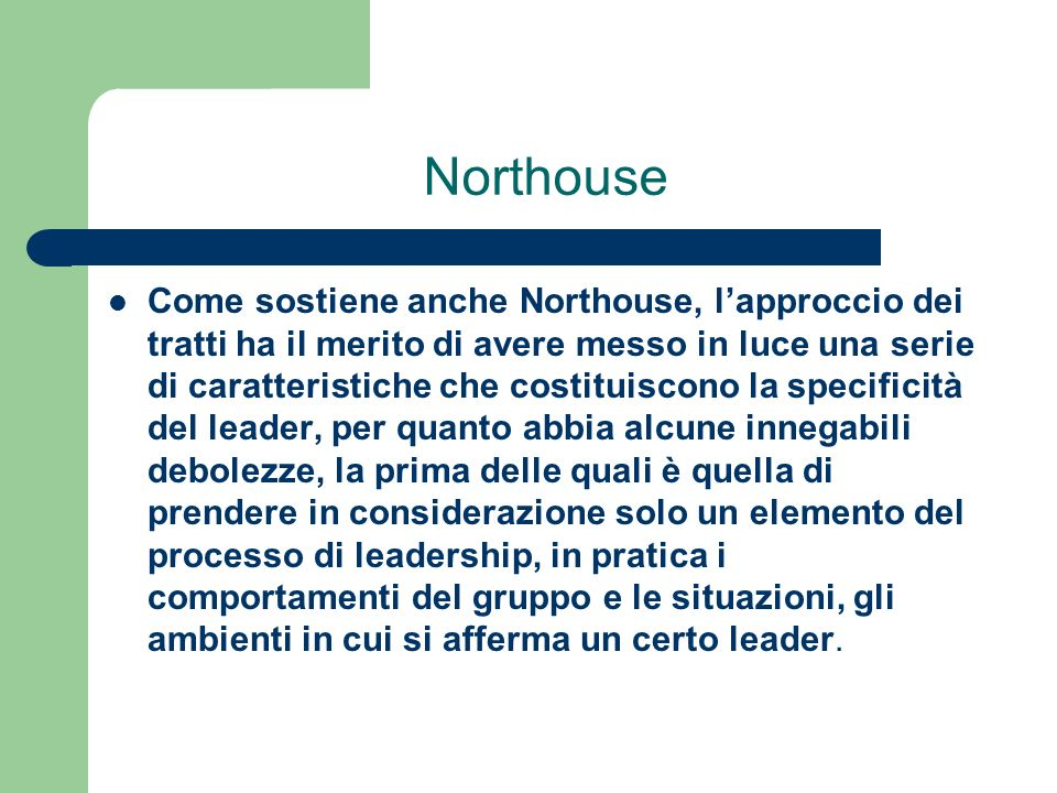 Northouse