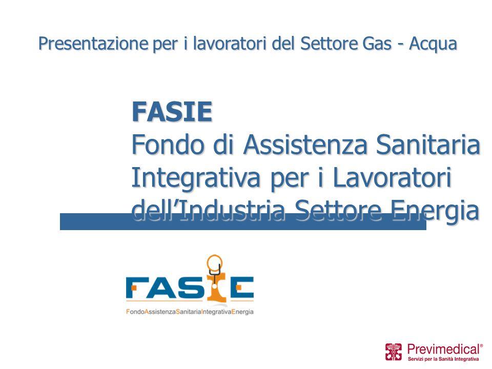 Presentazione per i lavoratori del Settore Gas - Acqua