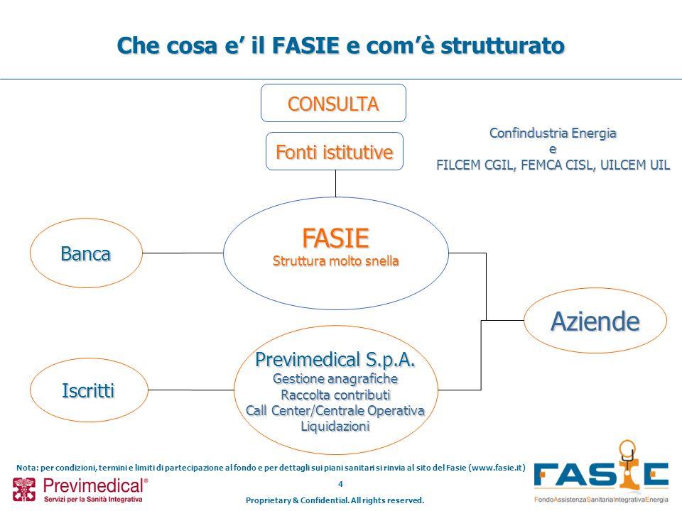 Che cosa e' il FASIE e com'è strutturato