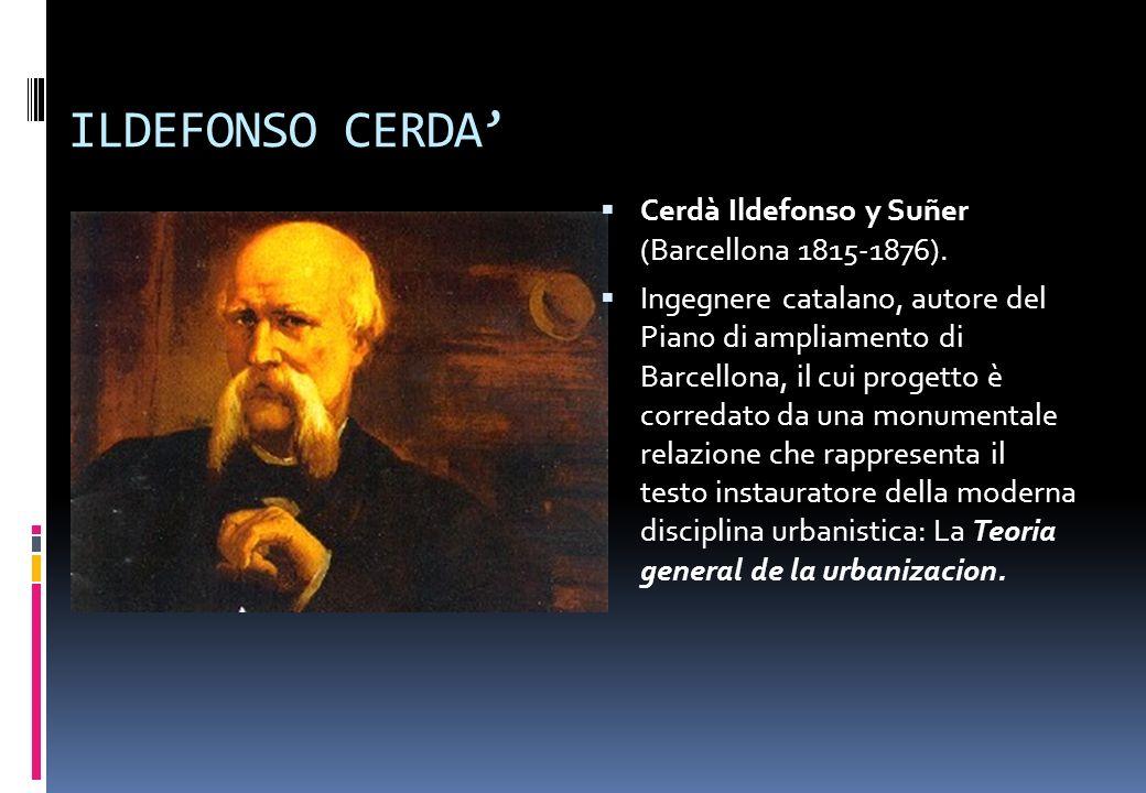 ILDEFONSO CERDA' Cerdà Ildefonso y Suñer (Barcellona 1815-1876).
