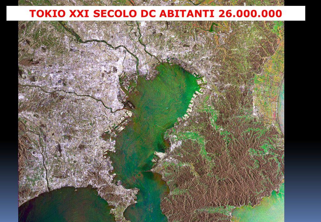 TOKIO XXI SECOLO DC ABITANTI 26.000.000