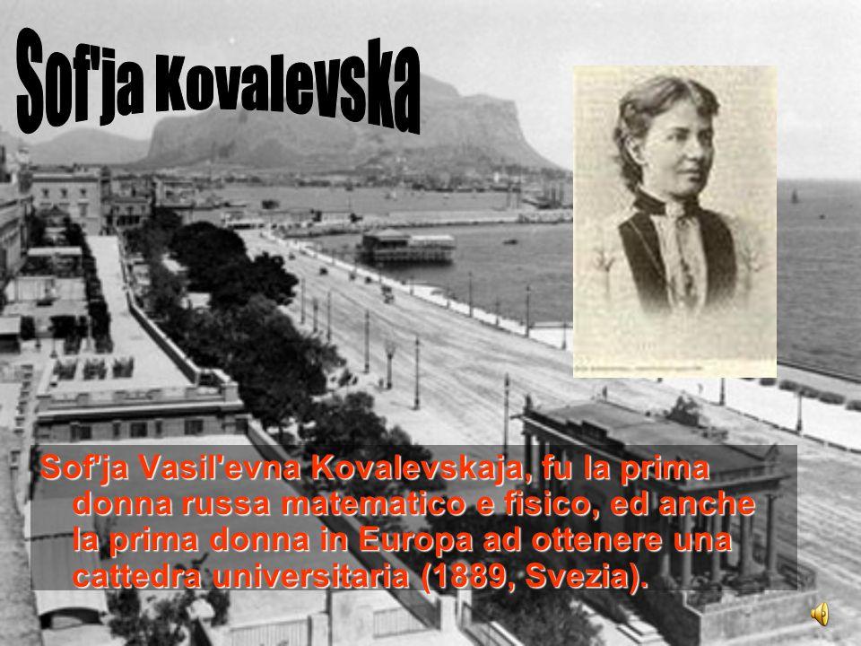 Sof ja Kovalevska