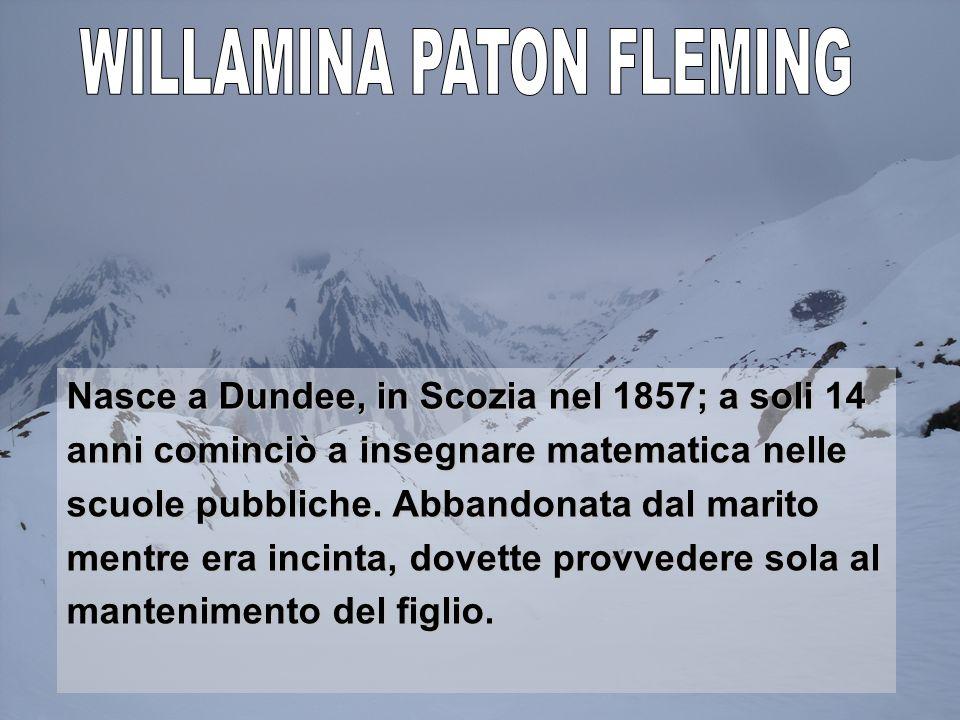 WILLAMINA PATON FLEMING