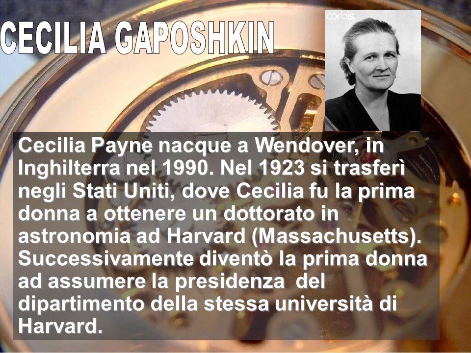 CECILIA GAPOSHKIN