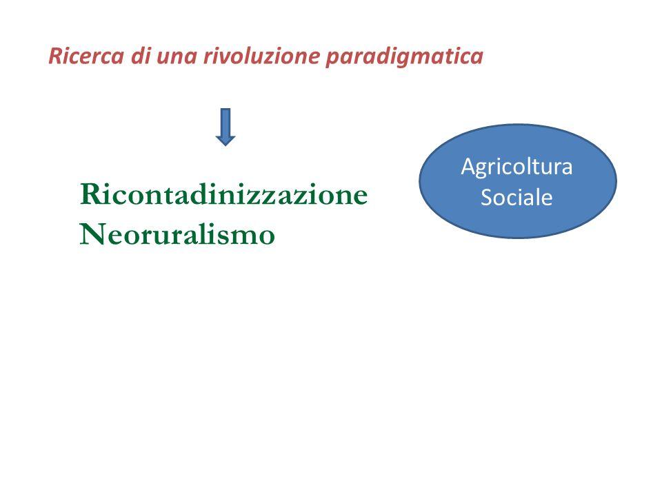 Ricontadinizzazione Neoruralismo
