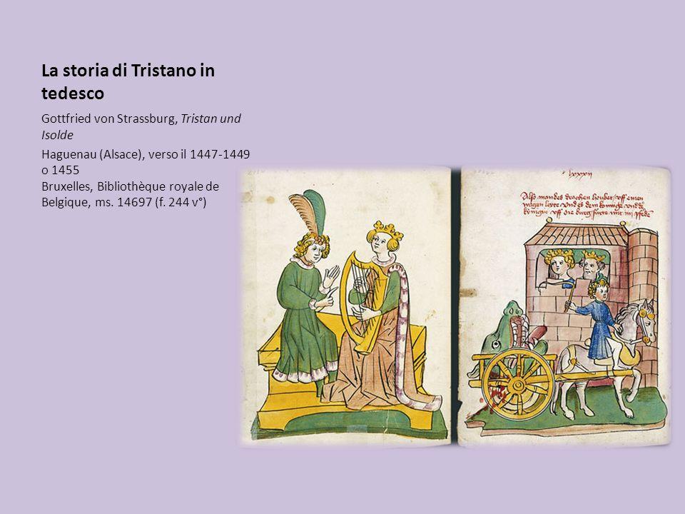 La storia di Tristano in tedesco
