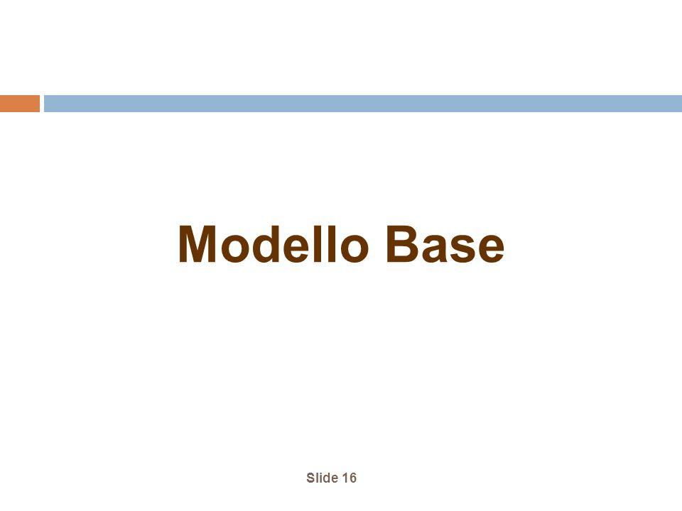 Modello Base