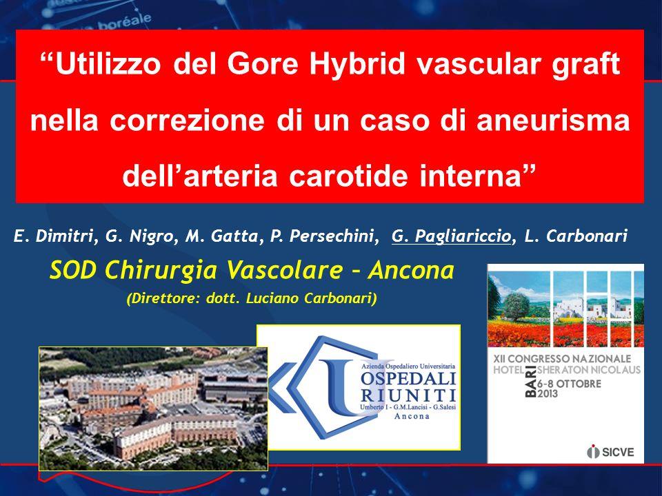 SOD Chirurgia Vascolare – Ancona (Direttore: dott. Luciano Carbonari)