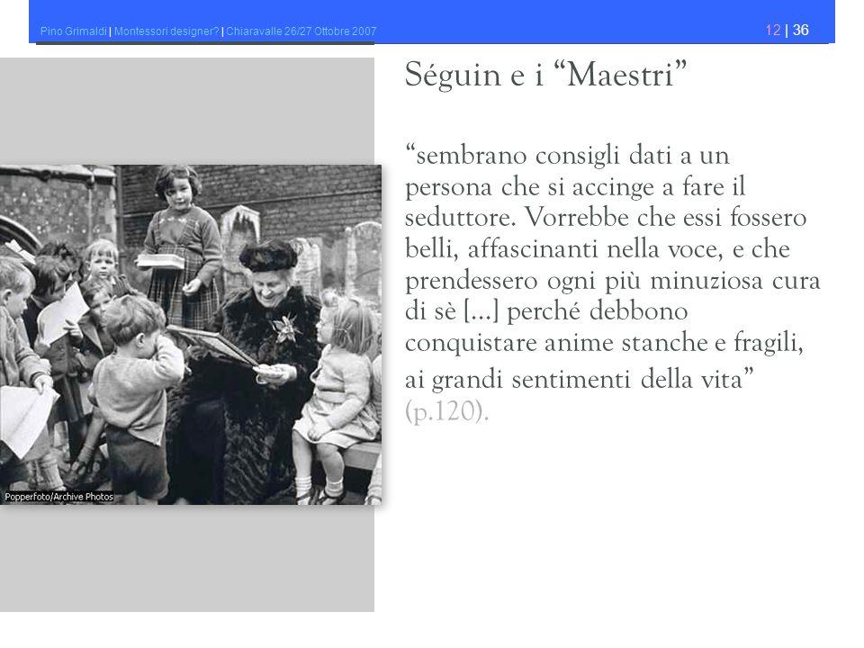 Séguin e i Maestri