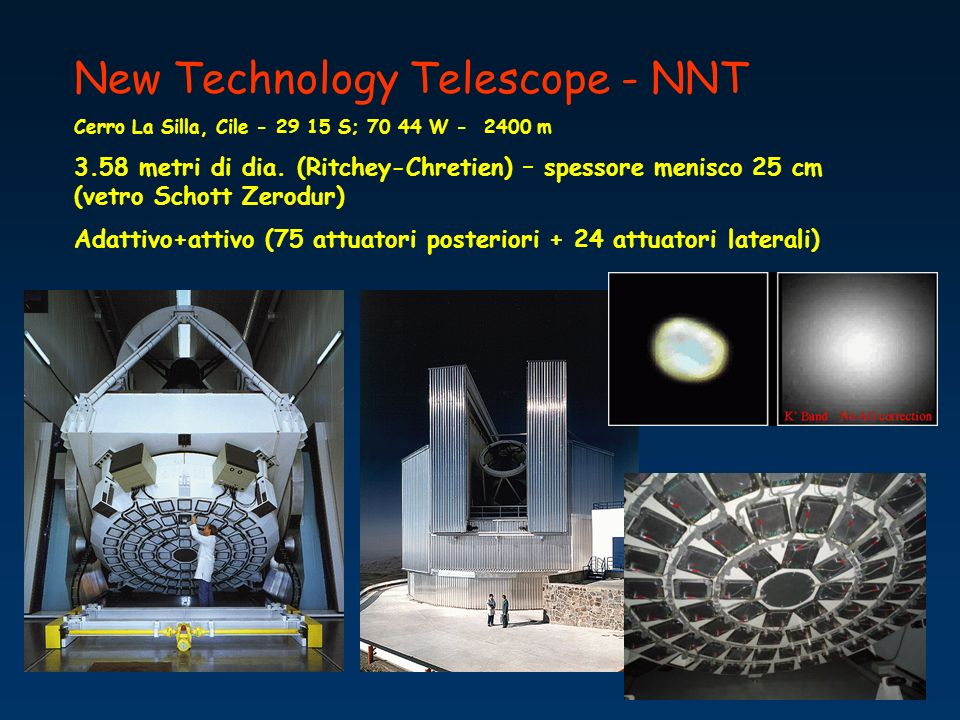 New Technology Telescope - NNT