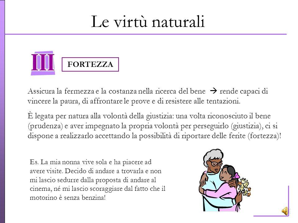 Le virtù naturali FORTEZZA