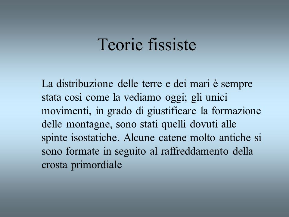 Teorie fissiste