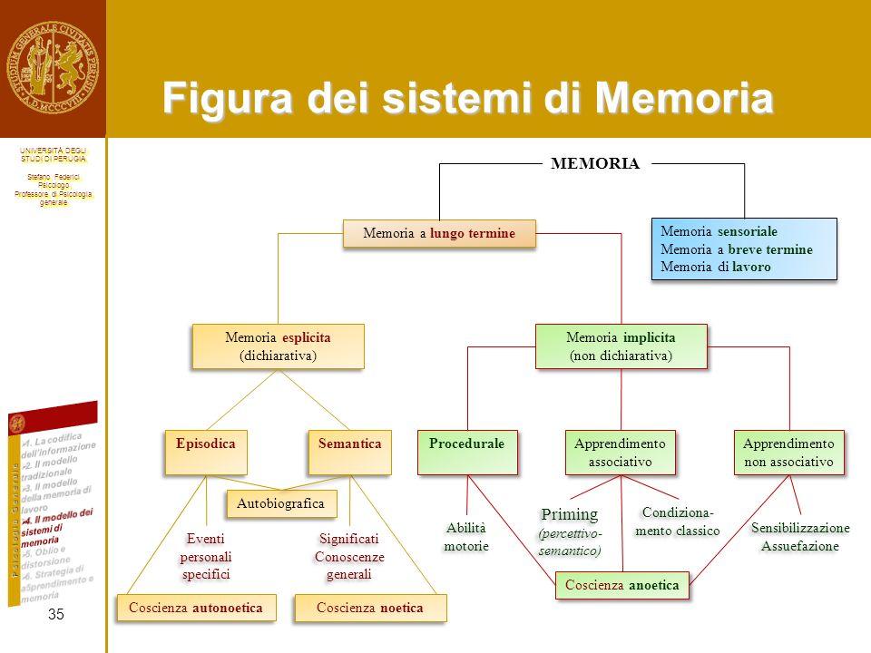 Figura dei sistemi di Memoria