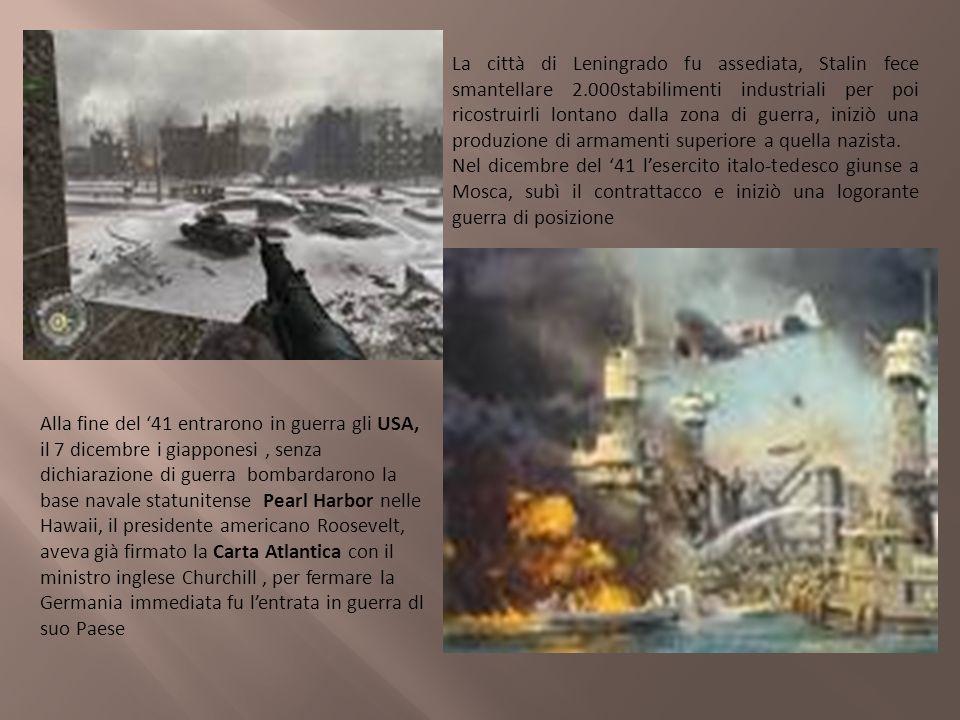La città di Leningrado fu assediata, Stalin fece smantellare 2