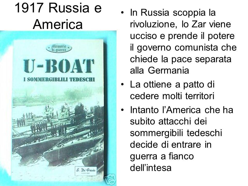 1917 Russia e America