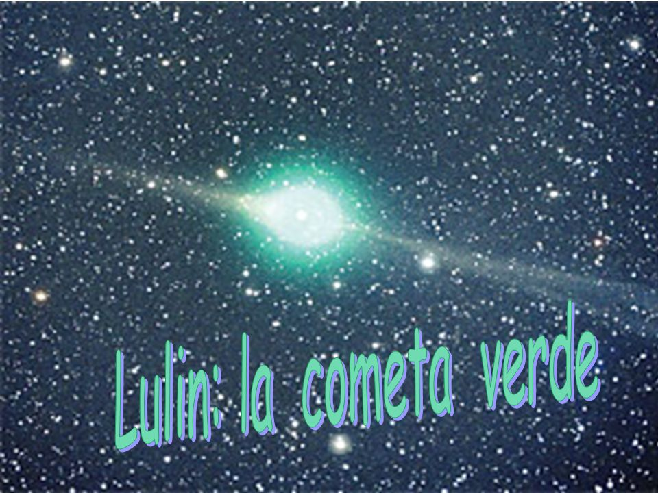 Lulin: la cometa verde