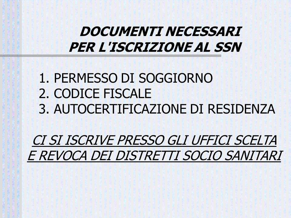 3. AUTOCERTIFICAZIONE DI RESIDENZA