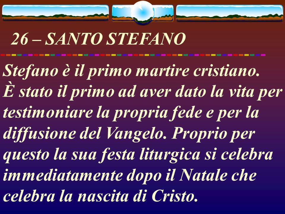 26 – SANTO STEFANO