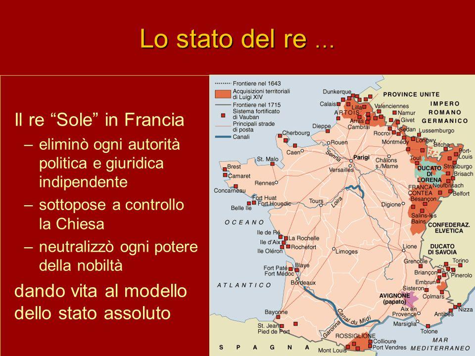 Lo stato del re … Il re Sole in Francia