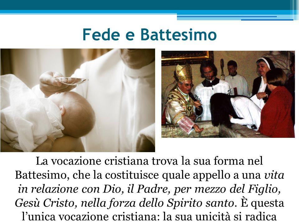 Fede e Battesimo