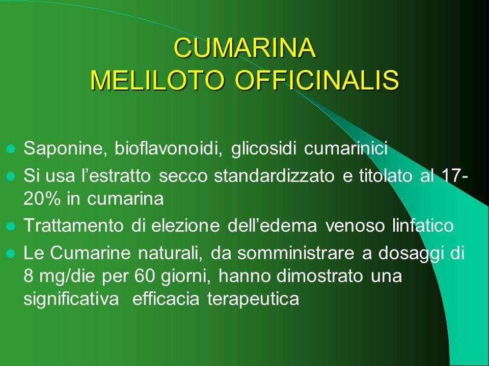 CUMARINA MELILOTO OFFICINALIS
