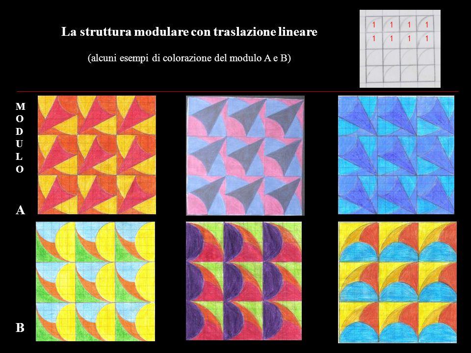 La struttura modulare con traslazione lineare