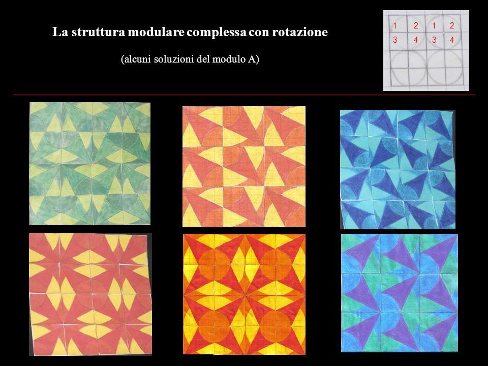 La struttura modulare complessa con rotazione