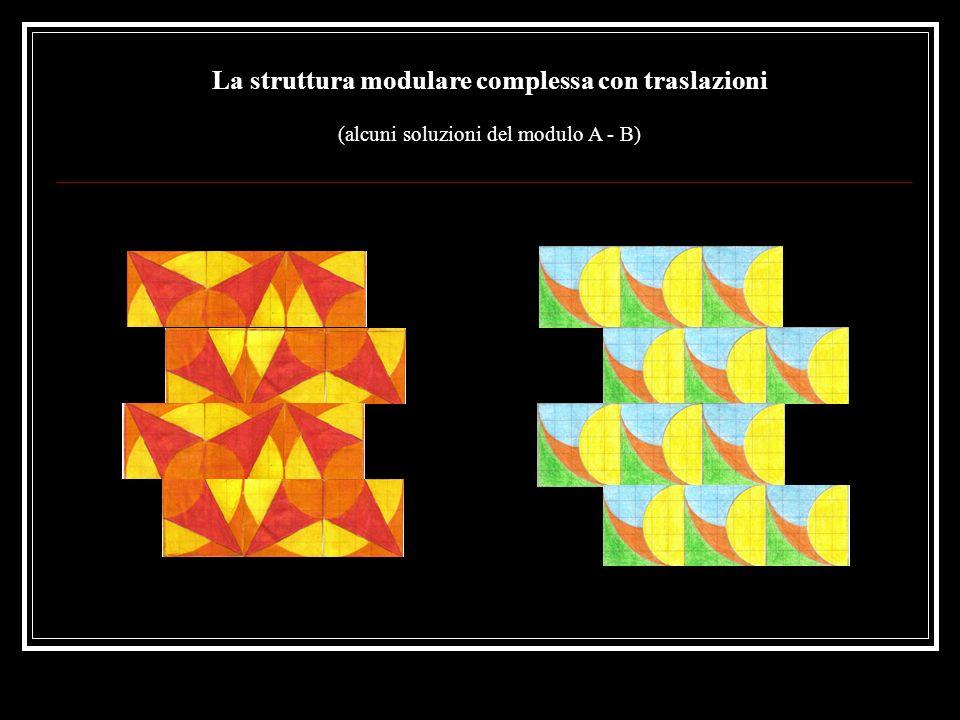 La struttura modulare complessa con traslazioni