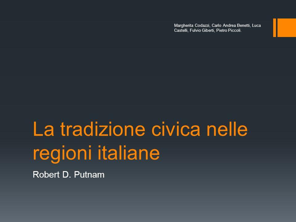 La tradizione civica nelle regioni italiane