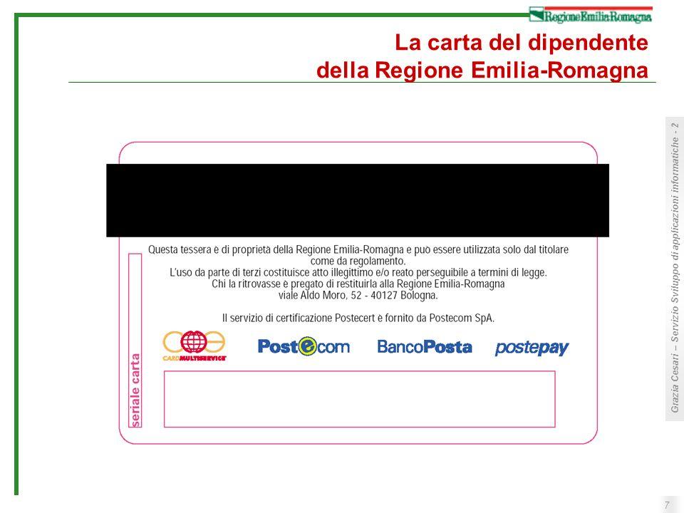La carta del dipendente della Regione Emilia-Romagna