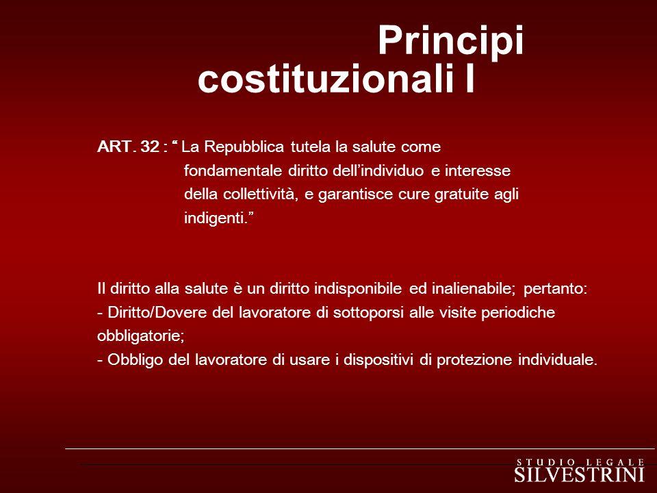 Principi costituzionali I