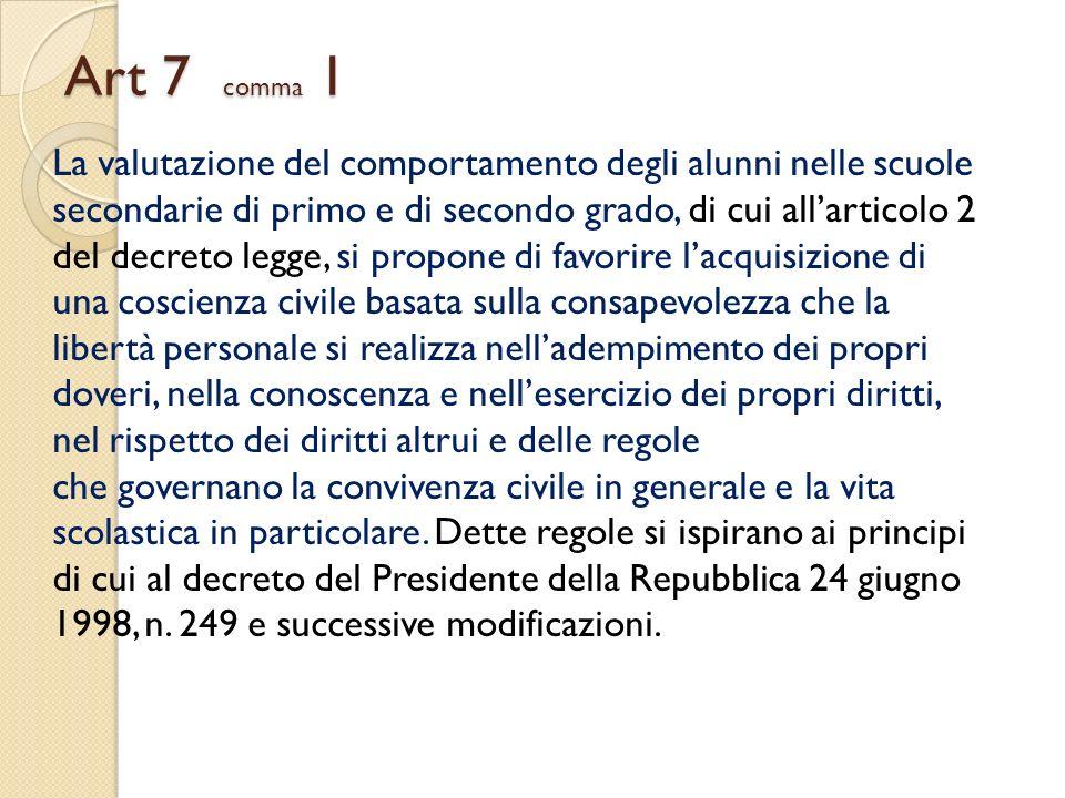 Art 7 comma 1