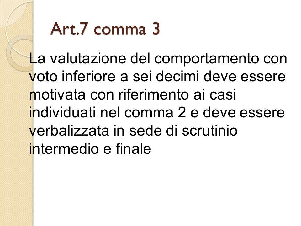 Art.7 comma 3