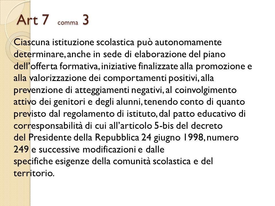 Art 7 comma 3
