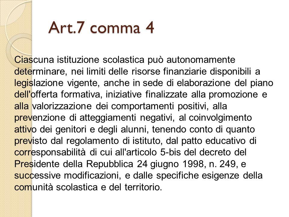 Art.7 comma 4