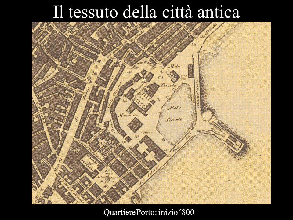 Il tessuto della città antica