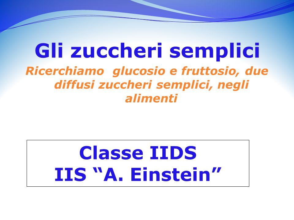 Classe IIDS IIS A. Einstein