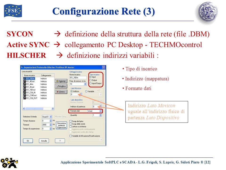 Configurazione Rete (3)