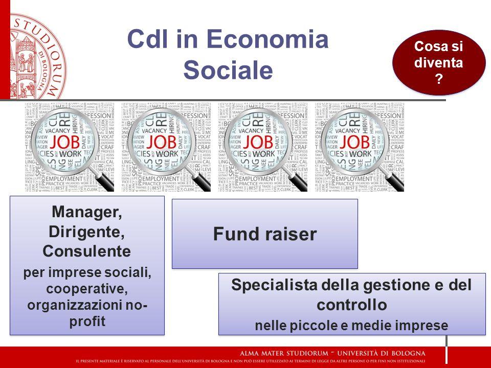 Cdl in Economia Sociale