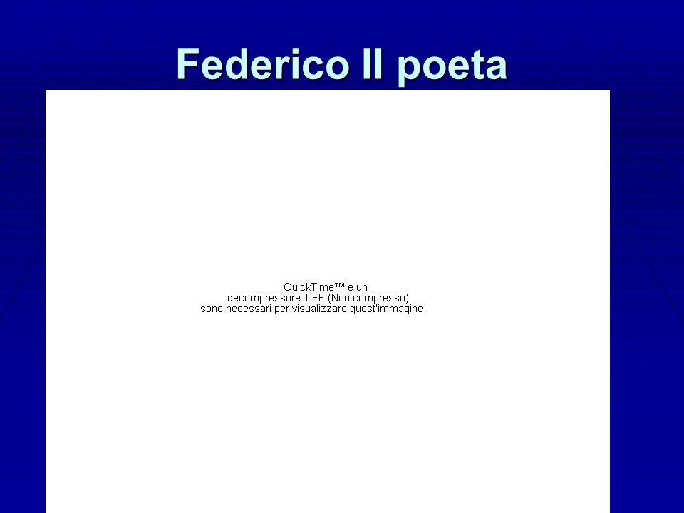 Federico II poeta