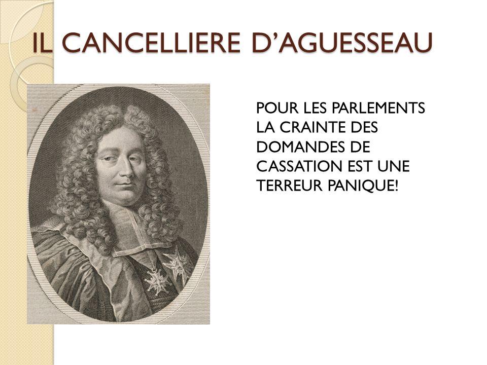 IL CANCELLIERE D'AGUESSEAU