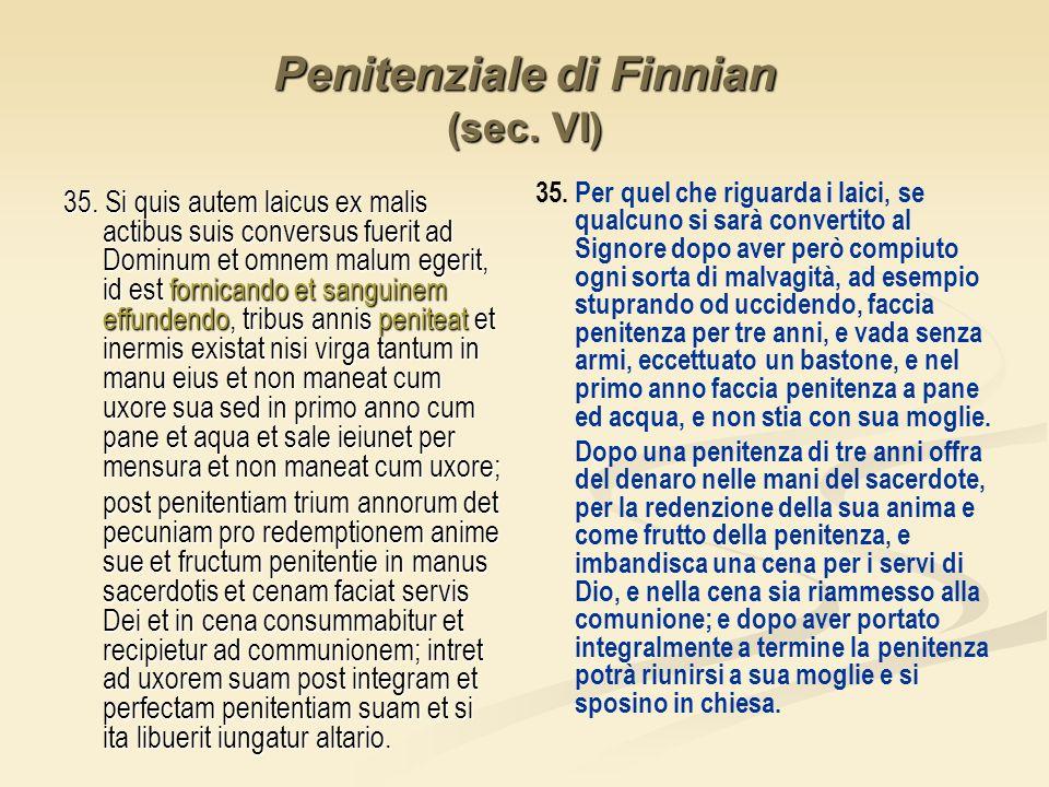 Penitenziale di Finnian (sec. VI)